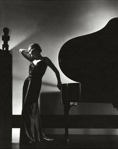 Vogue - November 1935 - Piano Silhouette by Edward Steichen
