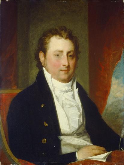 Edward Stow, c.1803-Gilbert Stuart-Giclee Print