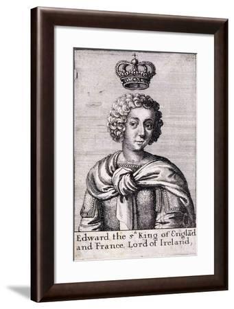 Edward V, King of England, C1485--Framed Giclee Print