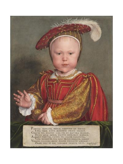 Edward VI as a Child, 1538-Hans Tiepolo the Younger-Giclee Print