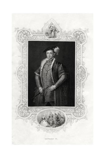 Edward VI, King of England and Ireland, 1860--Giclee Print