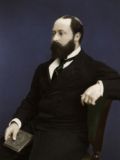 Edward VII (then Prince of Wales), 1876-Unknown-Photographic Print