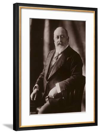 Edward VII--Framed Photographic Print