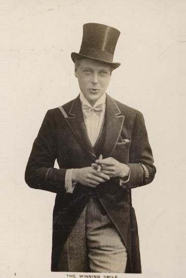 Edward VIII--Photographic Print