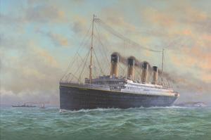 Titanic by Edward Walker
