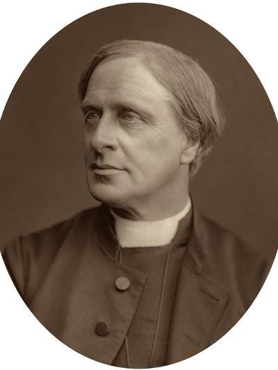 Edward White Benson, Lord Bishop of Truro, 1880-Lock & Whitfield-Photographic Print