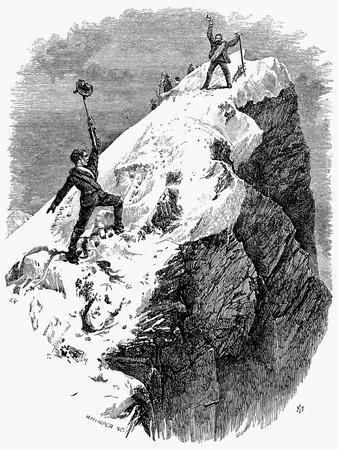 Edward Whymper, 1865