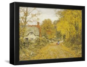 Autumn Lane by Edward Wilkins Waite