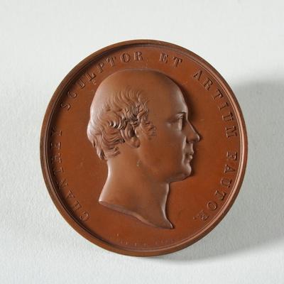 Medallion to Francis Chantrey, 1846
