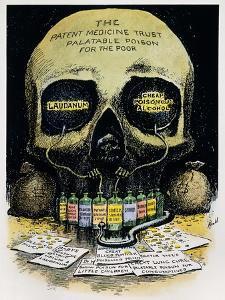Patent Medicine Cartoon by Edward Windsor Kemble