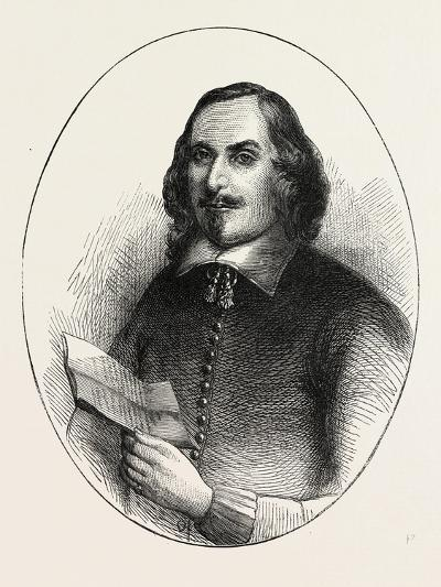 Edward Winslow, He Was a Separatist Who Traveled on the Mayflower in 1620, USA, 1870S--Giclee Print