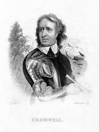 Oliver Cromwell, English Military Leader and Politician, 19th Century
