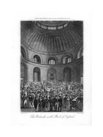 The Rotunda in the Bank of England, London, 1804