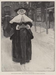 A Quiet Conscience by Edwin Austin Abbey