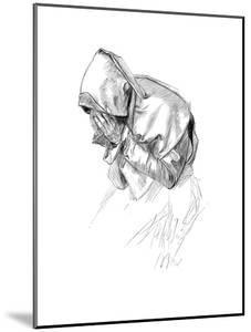 A Study by Edwin a Abbey Ra, 1899 by Edwin Austin Abbey