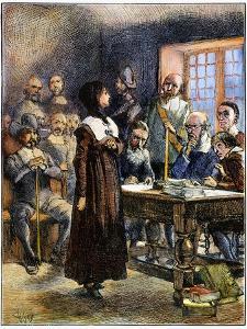 Anne Hutchinson (1591-1643) by Edwin Austin Abbey