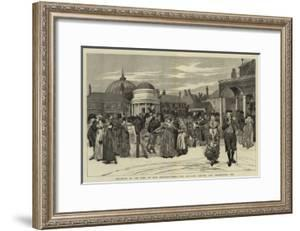 Brighton in the Time of Our Grandfathers, the Pavilion, Steyne, and Promenade, 1805 by Edwin Austin Abbey