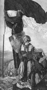 Crusaders Sighting Jerusalem, 1901 by Edwin Austin Abbey
