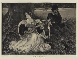 Fair Is My Love by Edwin Austin Abbey