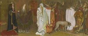 King Lear, Act I, Scene I, Cordelia's Farewell, 1898 by Edwin Austin Abbey