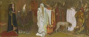 King Lear, Act I, Scene I, Cordelia's Farewell, 1898 by Edwin Austin Abbey