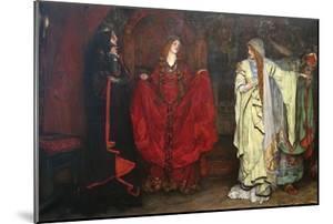 King Lear, Detail by Edwin Austin Abbey