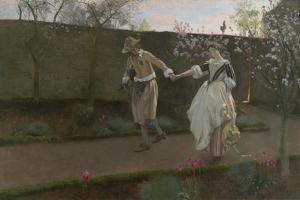 May Day Morning, 1890-94 by Edwin Austin Abbey