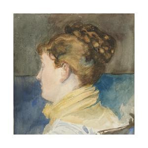Portrait of Mrs Abbey by Edwin Austin Abbey