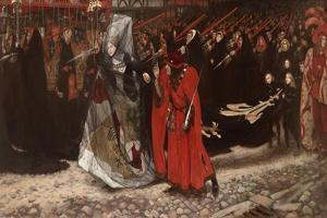 Richard, Duke of Gloucester, and the Lady Anne, 1896 by Edwin Austin Abbey