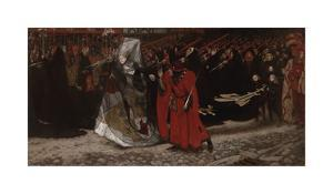 Richard, Duke of Gloucester and the Lady Anne by Edwin Austin Abbey