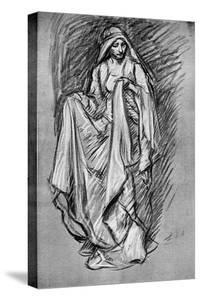 Sketch of Regan, from King Lear, 1899 by Edwin Austin Abbey