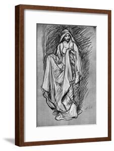 Sketch of Regan, from King Lear, 1899 by Edwin Austin Abbey