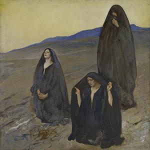The Three Marys, c.1905-10 by Edwin Austin Abbey
