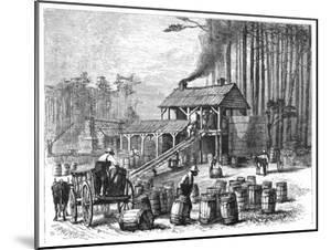 Turpentine Distillery, North Carolina, 1870 by Edwin Austin Abbey