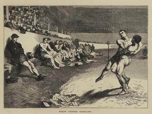 North Country Wrestling by Edwin Buckman