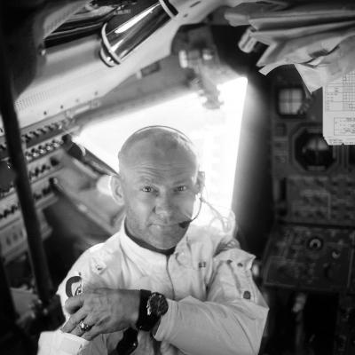 Edwin 'Buzz' Aldrin (1930-)-Neil Armstrong-Photographic Print