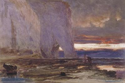 Beach and Cliffs, 19th Century
