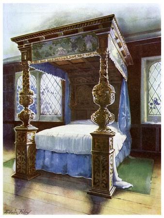 The Littlecote Bedstead, 1910