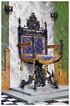 Wrought Steel Chair, 1910