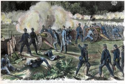 Battle of Cold Harbor, Virginia, American Civil War, 3 June 1864