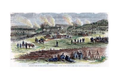 Battle of Spotsylvania Court House, Virginia, American Civil War, 12 May 1864