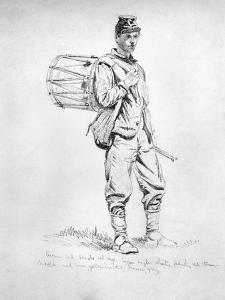 Civil War: Drummer, 1863 by Edwin Forbes