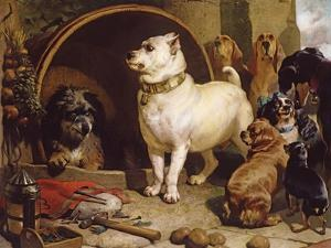 Alexander and Diogenes by Edwin Henry Landseer