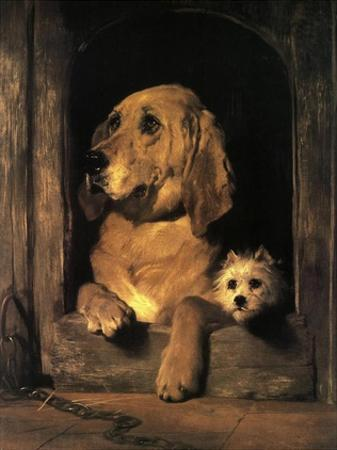 Dignity and Impudence by Edwin Henry Landseer