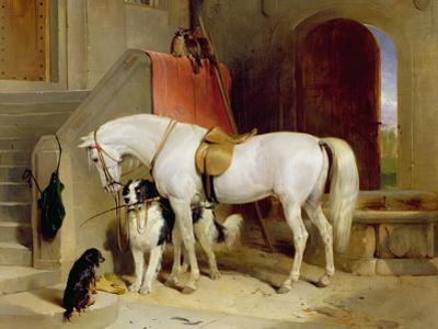 Prince George's Favourites by Edwin Henry Landseer