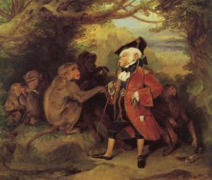 The Monkey who had seen the World by Edwin Henry Landseer