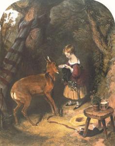 The Pets by Edwin Henry Landseer