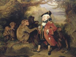 The Travelled Monkey, 1827 by Edwin Henry Landseer