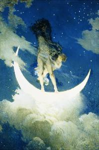 The Moon and the Stars by Edwin Howland Blashfield