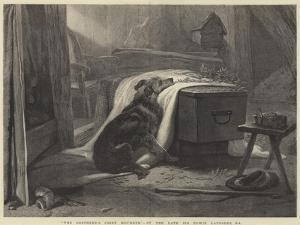 The Shepherd's Chief Mourner by Edwin Landseer